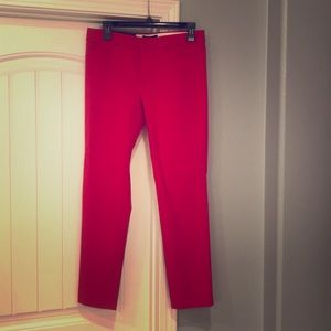 Gorgeous red slim pants